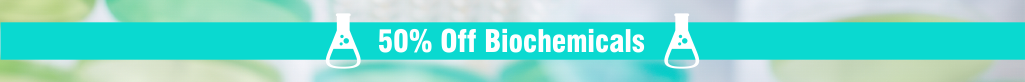 50% off Biochemicals