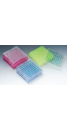 81-Well Cryo Box, PC, 9x9 (81holes), 10/case, 3 assorted color